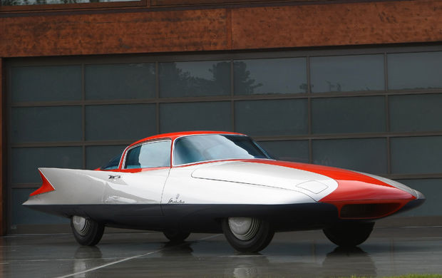 Ghia Gilda Streamline X Coupé (1955) - Photo : Gooding & Company