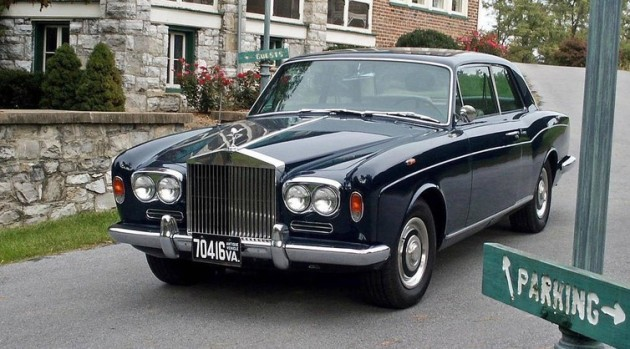 1967 Rolls-Royce Silver Shadow Two-Door Sedan Coachwork by H J Mulliner, Park Ward Ltd.