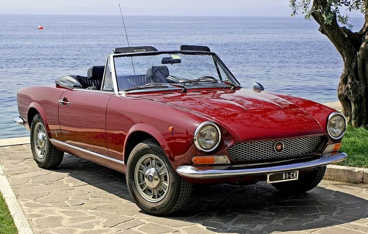 stubs auto fiat 124 sport spider 1966 1985. Black Bedroom Furniture Sets. Home Design Ideas