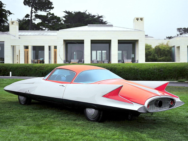 Ghia Gilda Streamline X Coupé (1955)